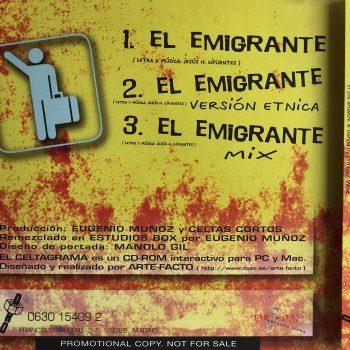 el_emigrante_single_celtas_cortos_trasera